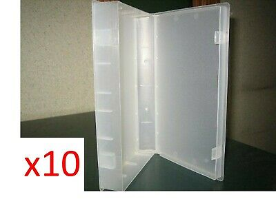 Empty Clear VHS Tape Cases - Pack Of 10OUT OF STOCK AT THE MOMENT • 1,000£