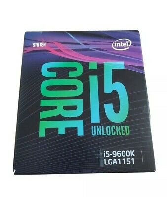 Intel Core I5-9600K 4.6GHz LGA1151 6-Core Processor • 108£