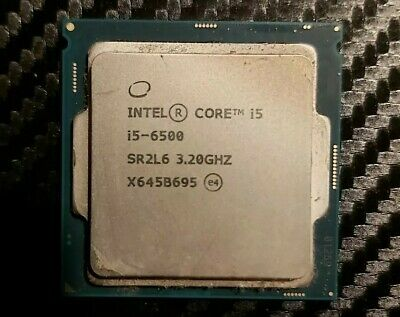 Intel Core I5-6500  - 3.2GHz Quad-Core Processor LGA1151 • 65£