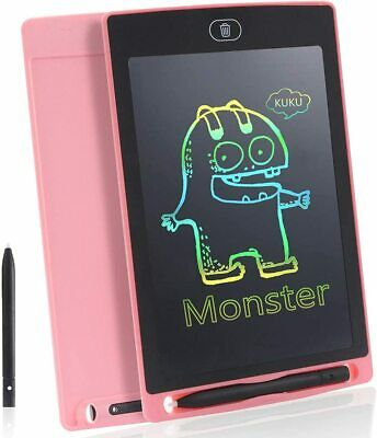 Colourful Electronic LCD Writing Tablet Digital Drawing Board  Kids Fun Gifts • 7.71£