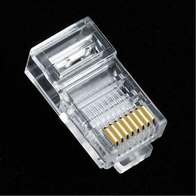 Cable Connector Plugs Adapter RJ45 EZ CAT6 Modular Networking Practical • 5.53£