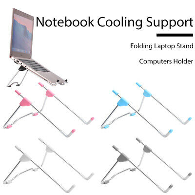 Folding Laptop Stand Notebook Heat Reduction PC Holder Cooling Support  • 3.99£