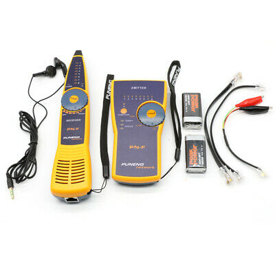 PN-F Wire Tracker Toner And Probe Network Cable Tester Fluke Style RJ11 RJ45 New • 33.76£