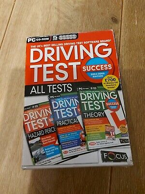 Driving Test Success BOXED Set Pc Cd Rom • 0.99£