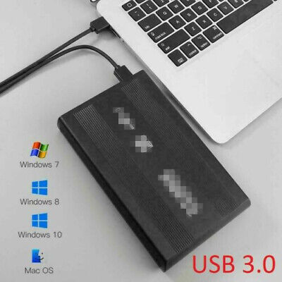 USB 3.0 To SATA Hard Drive Enclosure Caddy Case For 2.5  Inch HDD / SSD External • 4.79£