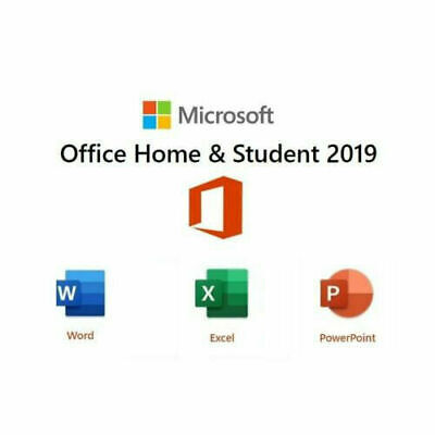 Microsoft Office 2019 Home And Student Windows PC Lifetime Key Code 1 User • 34.99£