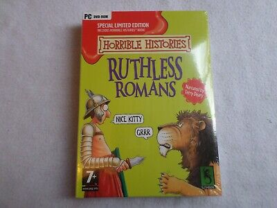 BN And Sealed Horrible Histories Ruthless Romans Book And PC DVD-ROM • 0.99£