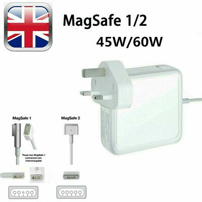 45W 60W MAC Adapter Power Charger For Apple Macbook Pro MagSafe 1/2 13  • 14.99£
