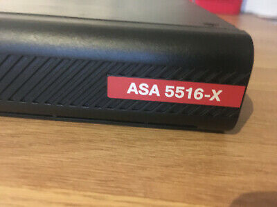Cisco ASA5516-FPWR-K9 ASA 5516-X With FirePOWER Services (used) • 550£