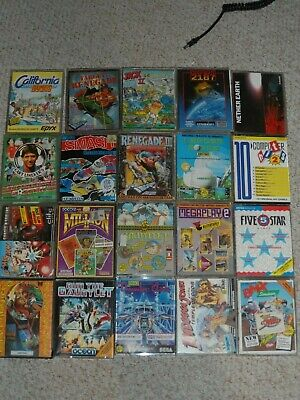 Amstrad Games Joblot Over 50 Games • 29.99£