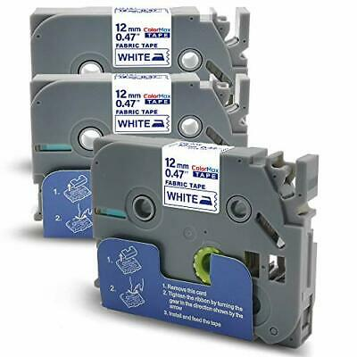 3X Compatible PTouch Label Tape Replacment For Brother Tze Iron On • 16.99£