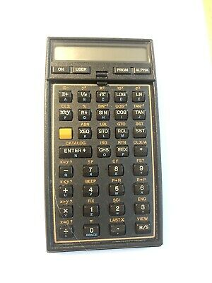 Hewlett Packard HP 41CX Programmable Calculator, Vintage, Very Good Condition • 46£