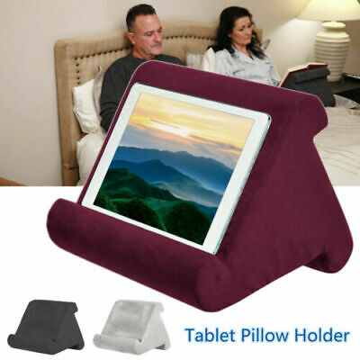 Tablet Pillow Stand For Phone Reader Kindle IPad Books Holder Rest Lap Cushion • 9.65£