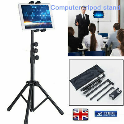 3 Section Retractable Tablet Tripod Floor Stand For 12.9  Ipad Iphone Live Show • 15.98£