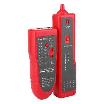 Wire Finder Plastic Hunting Machine Cable Tester Phone Line Finder Wire Search • 19.81£