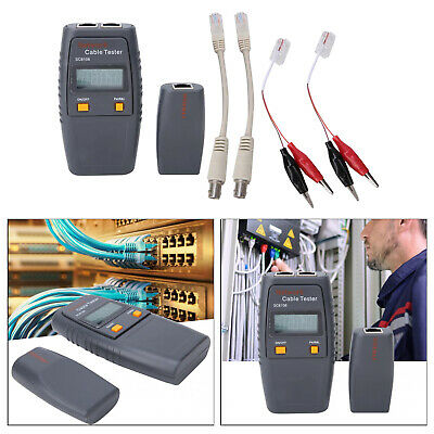 Multifunction Network Cable Tester For RJ45 RJ11 Ethernet BNC (-No Battery) • 27.27£